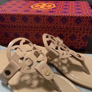 Tory Burch Miller Sandal NWT in box